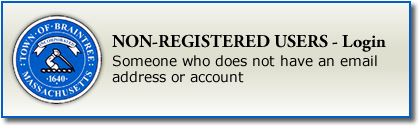 Non-Registered Users - Login